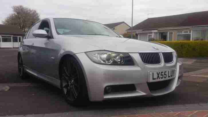 2005 55 BMW 330D M SPORT AUTOMATIC.MASSIVE SPEC WITH LOADS OF FACTORY EXTRAS.FSH