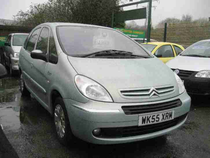 2005 55 Citroen Xsara Picasso 2.0i 16V AUTOMATIC Desire MET LIGHT GREEN