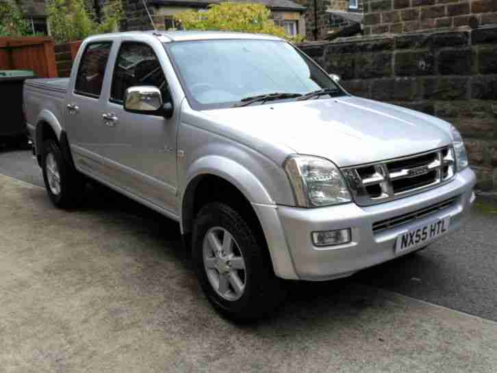 2005 55 ISUZU RODEO D MAX 3.0 T DIESEL PICK UP DOUBLE CAB AUTOMATIC SUPERB
