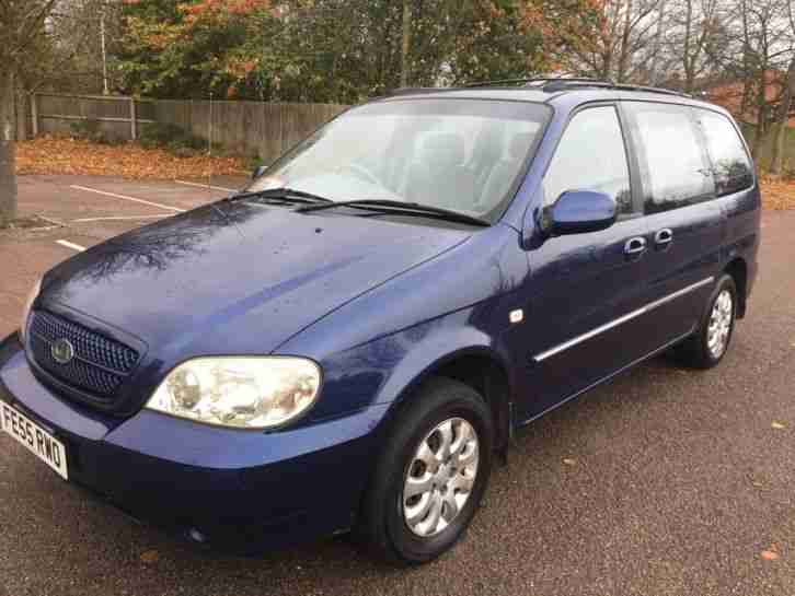 2005 55 SEDONA 2.5 V6 L 7 SEATER, LOW
