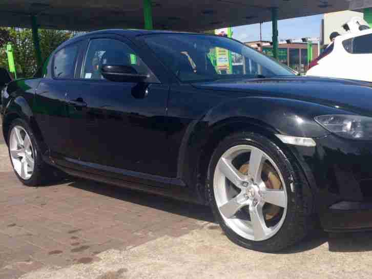 2005 55 MAZDA RX-8 231 PS BLACK ULTRA LOW MILES 51k 7 Months MOT Full Leather