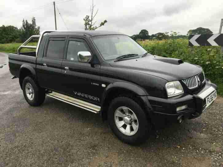 2005(55) MITSUBISHI L200 2.5 TD WARRIOR LWB TWIN CAB FULL MOT GOOD LOOKING TRUCK