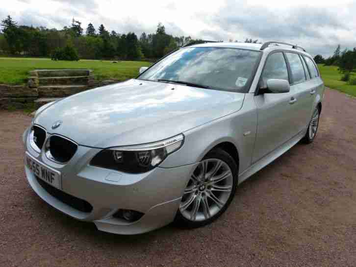BMW 2005 55 Plate E61 520D M SPORT TOURING, FSH,Full ...