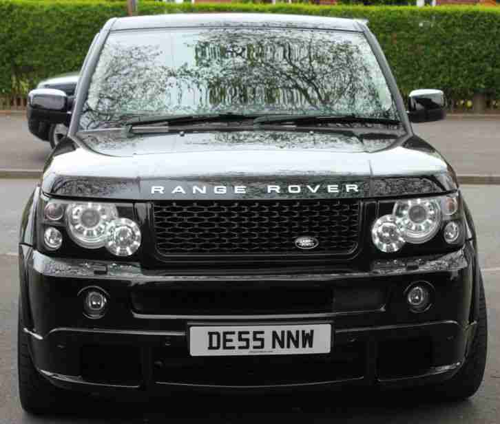 Incridible Land Rover Diesel For Sale On Range Rover Sport: 2005 55 RANGE ROVER SPORT TDV6 HSE A BLACK KAHN