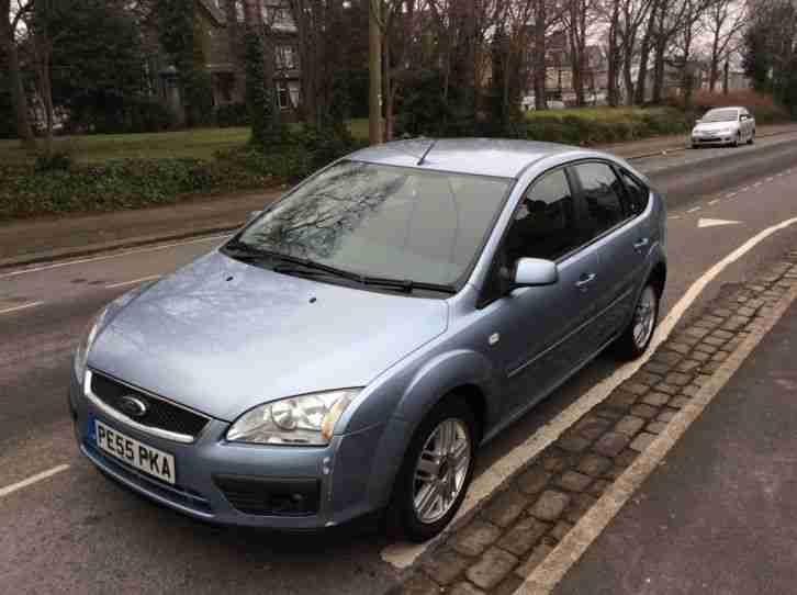 2005 55 REG FORD FOCUS GHIA TDCI BLUE TOP OF THE RANGE BARGAIN PX WELCOME