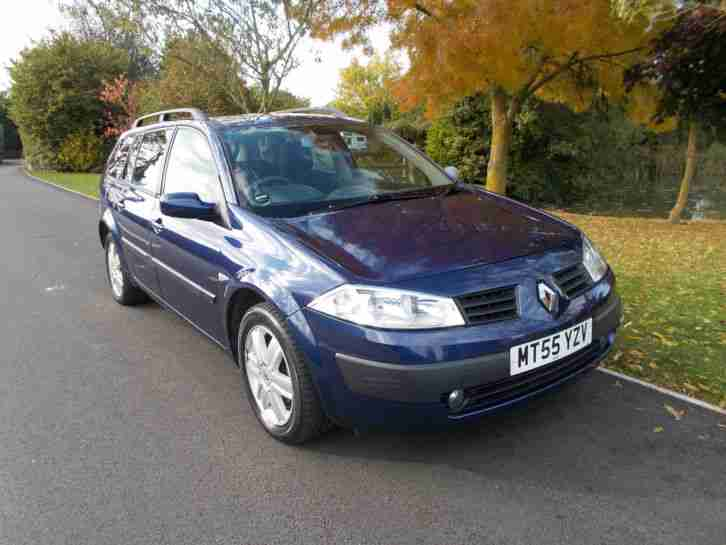 renault 2005 55 megane oasis estate 1 5 dci 106 bhp 6 speed euro 4. Black Bedroom Furniture Sets. Home Design Ideas