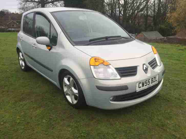 2005 55 RENAULT MODUS DYNAMIQUE 16V SILVER JUST 47000 MILES FROM NEW NICE CAR