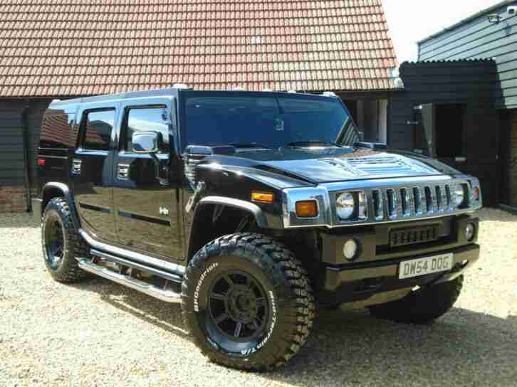 Hummer 55. Hummer car from United Kingdom