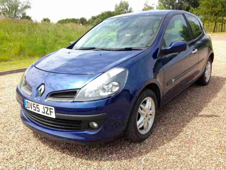 2005 55 Renault Clio 1.4 Dynamique 16v 85K miles Nov MOT Minor Damage Salvage