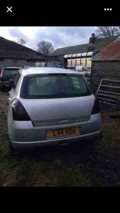 2005 (55) SUZUKI SWIFT DDIS SILVER