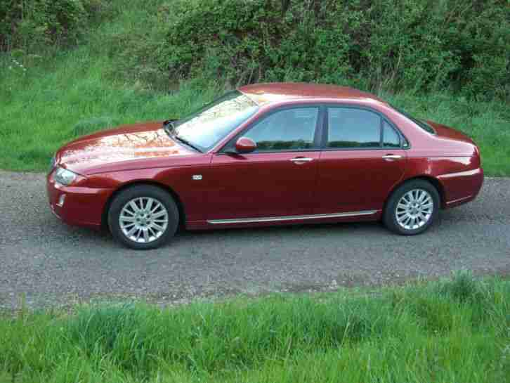 2005 (55 reg)ROVER 75 CONTEMPORARY CDTI RED, LOW MILAGE