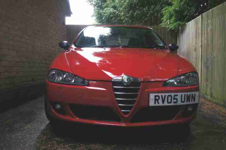 alfa romeo 2005 147 jtd m jet lusso red car for sale. Black Bedroom Furniture Sets. Home Design Ideas