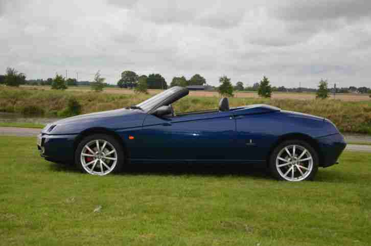 2005 ALFA ROMEO SPIDER JTS LUSSO FINAL EDITION BLUE