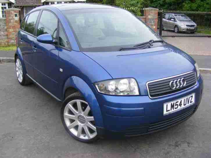 audi 2005 a2 1 4 tdi sport turbo diesel blue car for sale. Black Bedroom Furniture Sets. Home Design Ideas