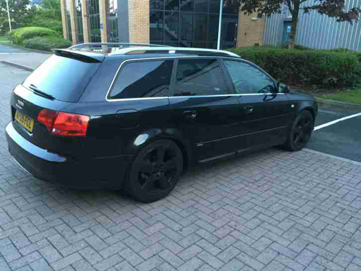 2005 AUDI A4 S LINE TDI BLACK FACELIFT FULLY LOADED NO RESERVE