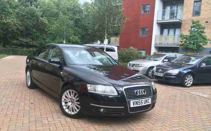 Audi A6. Audi car from United Kingdom