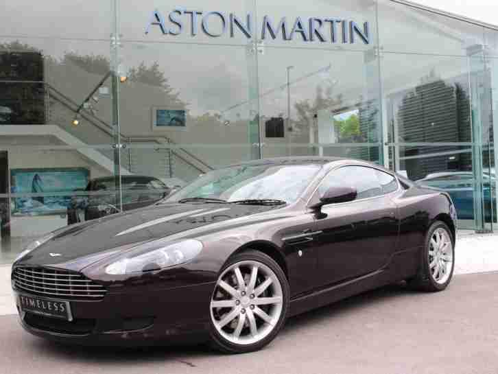 Aston Martin DB Petrol Black Automatic Car For Sale - 2005 aston martin db9