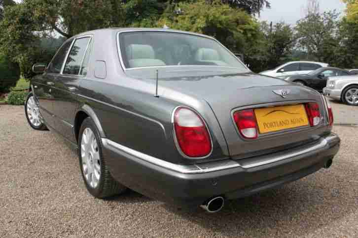 2005 BENTLEY ARNAGE R 6.8 BENTLEY DEMO + ONE OWNER SALOON PETROL