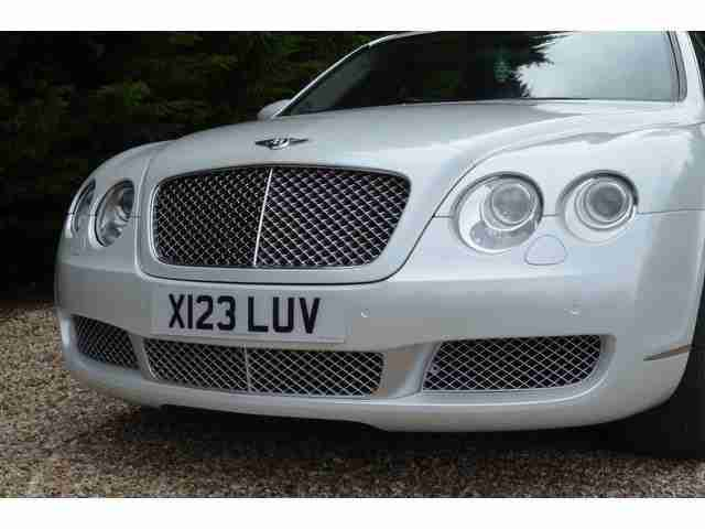 2005 BENTLEY CONTINENTAL FLYING SPUR PEARL WHITE