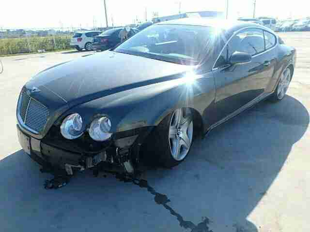 2005 BENTLEY CONTINENTAL GT DAMAGED REPAIRABLE SALVAGE NOT RECORDED 29K MILES