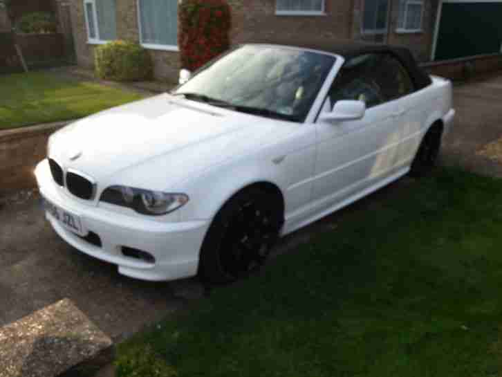 BMW 2005 318CI SPORT CONVERTIBLE WHITE SPARES OR REPAIR, NON RUNNER