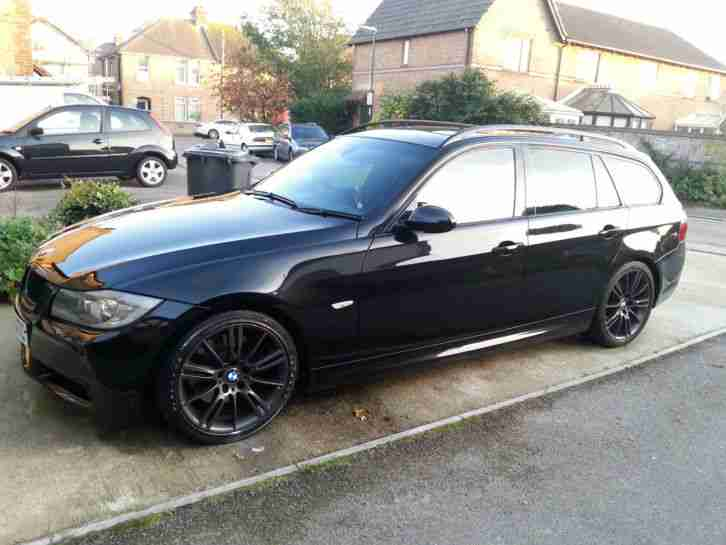 BMW 2002 320D SE RED 4 door Saloon Family Car. car for sale
