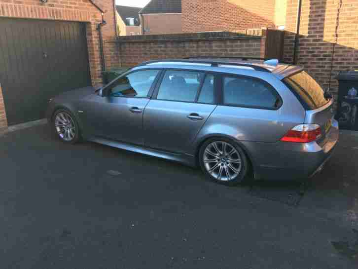 2005 BMW 525D SPORT TOURING AUTO GREY