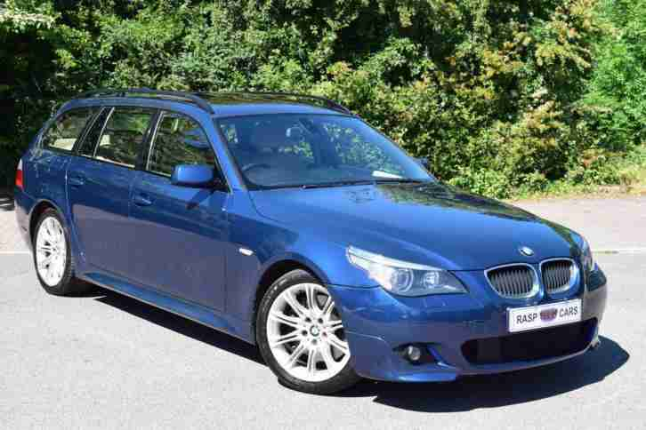 2005 BMW 535d SPORT 3.0 TD Touring 535 Estate Diesel HUGE SPEC automatic E61