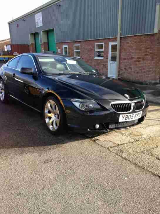 BMW 2005 630I AUTO BLACK. car for sale