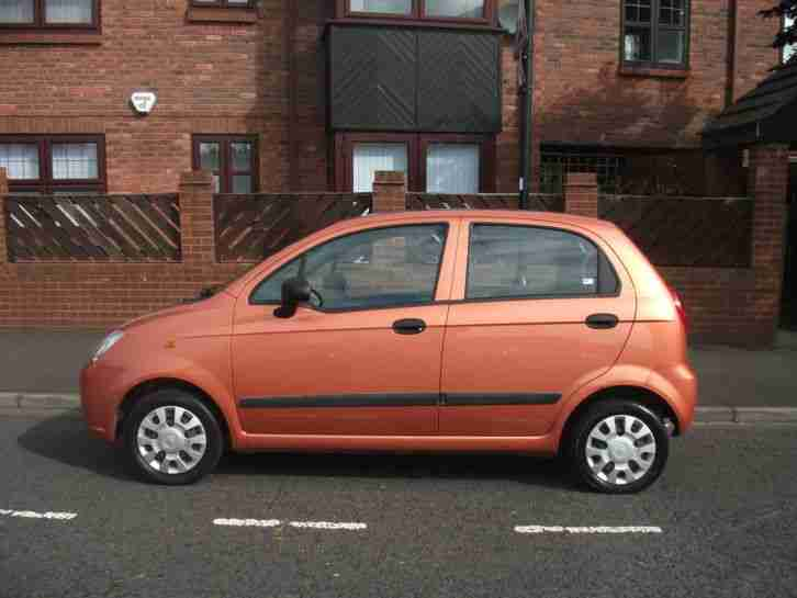 2005 chevrolet matiz s orange car for sale. Black Bedroom Furniture Sets. Home Design Ideas
