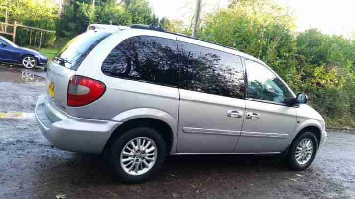 chrysler 2005 grand voyager 2 8 crd auto 7 seater diesel