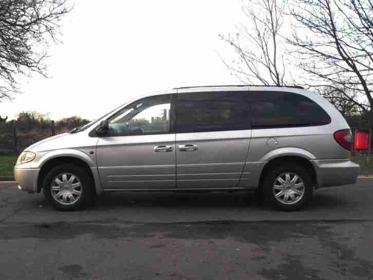chrysler 2005 grand voyager 2 8 crd auto limited stow n go silver. Black Bedroom Furniture Sets. Home Design Ideas