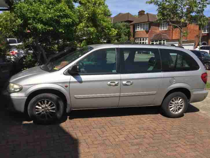 2005 CHRYSLER GRAND VOYAGER AUTO 3.3 PETROL 7 SEATER DAMAGED REPAIRABLE SALVAGE