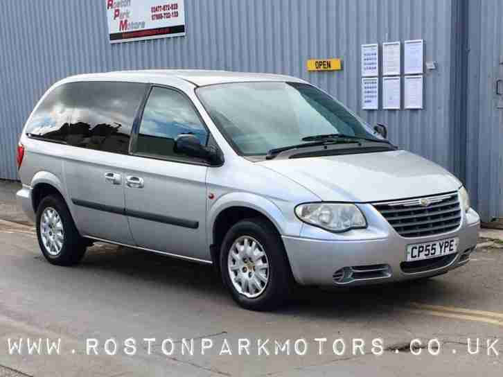 2005 CHRYSLER VOYAGER 2.5 CRD SE 5dr 7 seats new MOT