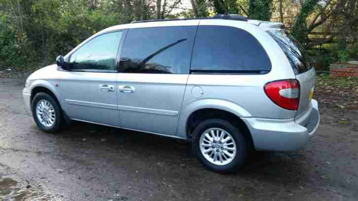 2005 CHRYSLER VOYAGER 2.8 CRD AUTO DIESEL SILVER 7 SEATER L@@K **NO RESERVE**