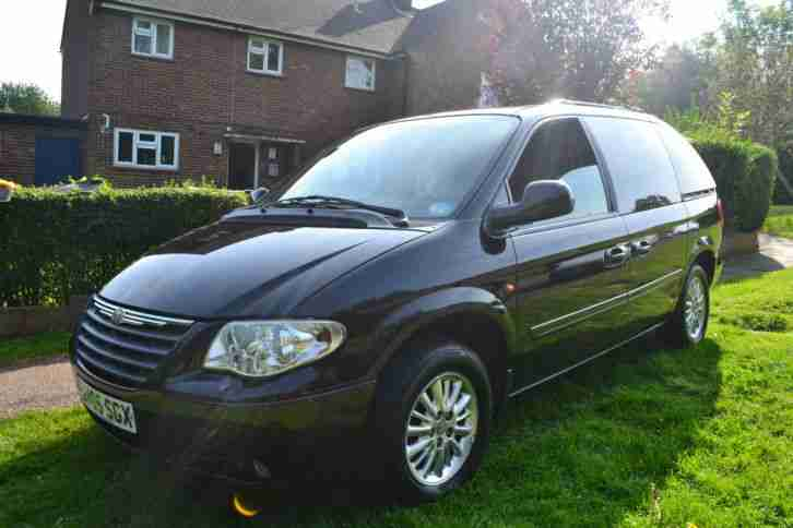 Chrysler VOYAGER. Chrysler car from United Kingdom