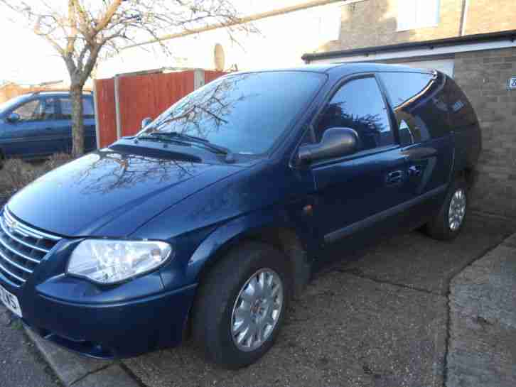 2005 CHRYSLER VOYAGER SE BLUE