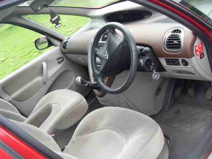 2005 CITROEN XSARA PICASSO EXCLUSIVE HDI RED