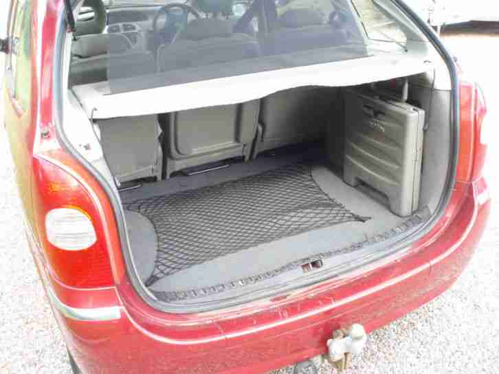 2005 CITROEN XSARA PICASSO EXCLUSIVE RED