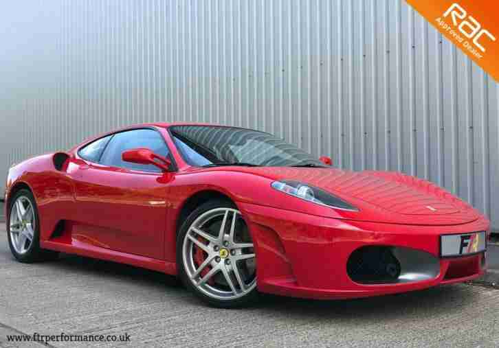 2005 F430 F1 PADDLE SHIFT RED 19K