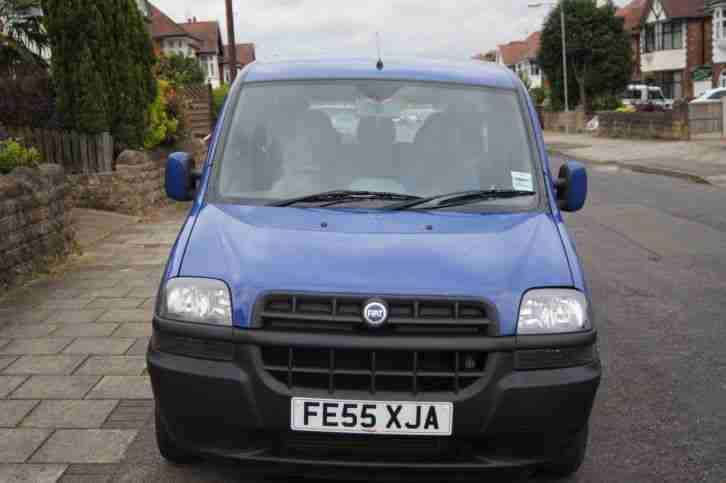Fiat 2005 Doblo Active Jtd Blue Car For Sale