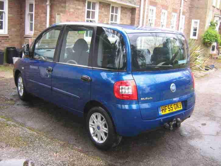 fiat 2005 multipla jtd elegance mpv blue diesel car for sale. Black Bedroom Furniture Sets. Home Design Ideas