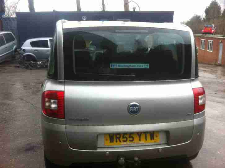 2005 FIAT MULTIPLA JTD ELEGANZA GREY ACCIDENT DAMAGED