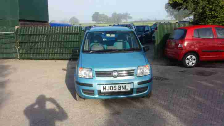 FIAT PANDA ELEGANZA 1.3 PETROL LOW INSURANCE BLUE FULL M O T CHEAP CAR