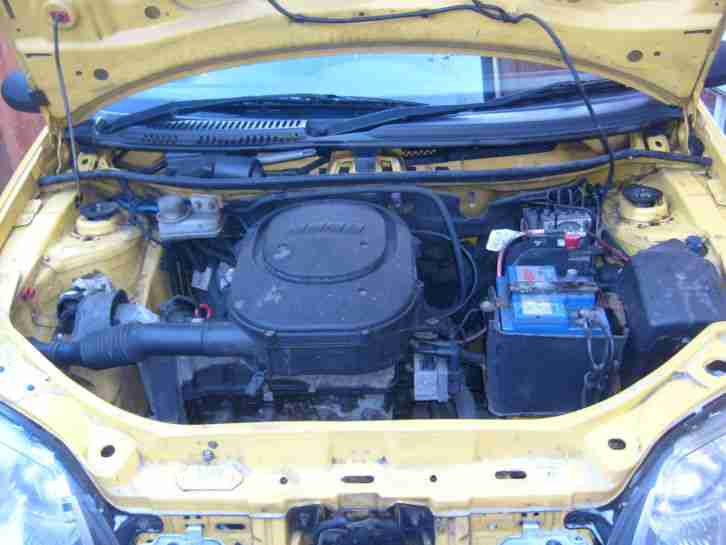 2005 FIAT PUNTO ACTIVE SPORT 8V YELLOW