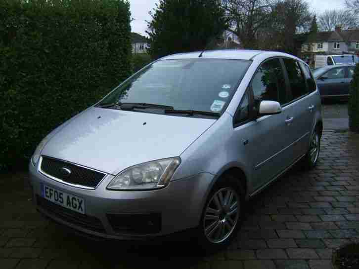 ford 2005 focus c max ghia silver car for sale. Black Bedroom Furniture Sets. Home Design Ideas