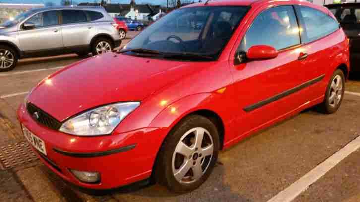 ford  focus edge  zetec red dr manual car  sale