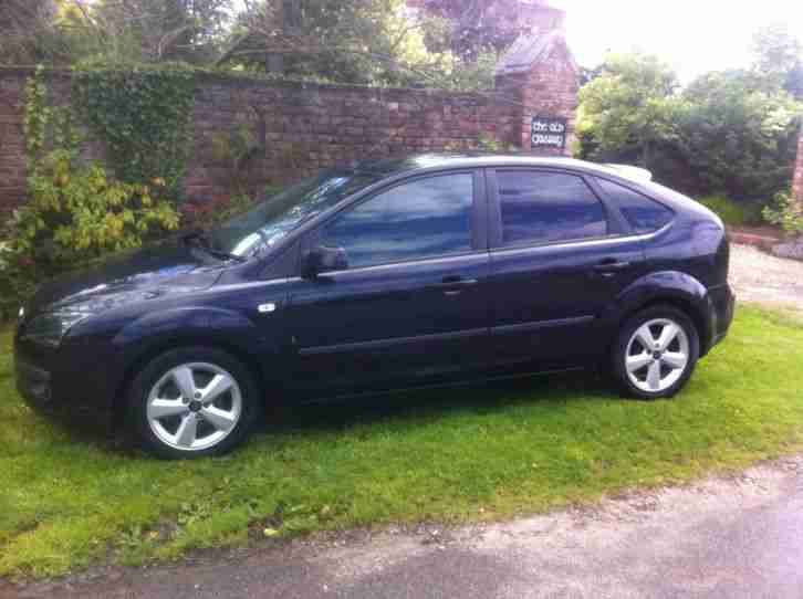 Ford focus zetec climate black