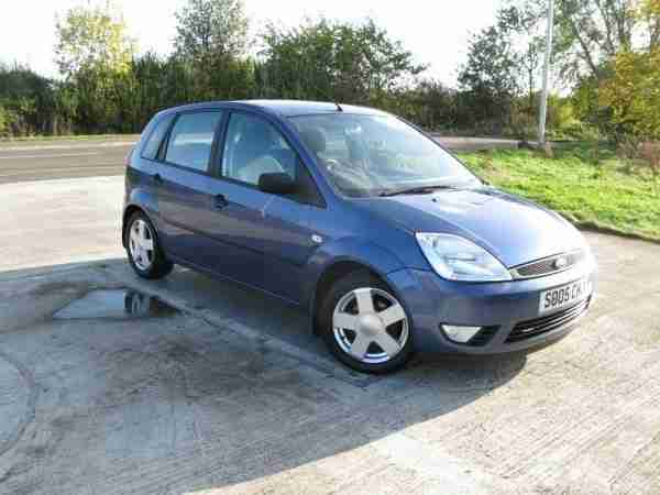 2005 Fiesta 1.4 Zetec Manual Hatchback
