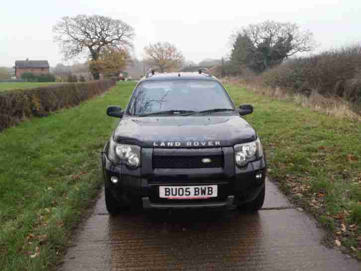2005 FREELANDER TD4 sport leather CAN DELIVER TODAY